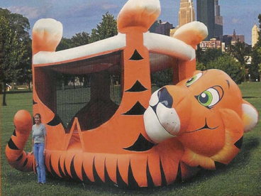 Tiger Cub Bounce House