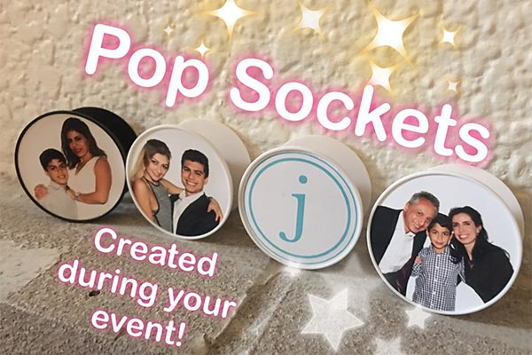 Pop Socket Photo Booths